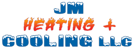 JM Heating + Cooling Logo